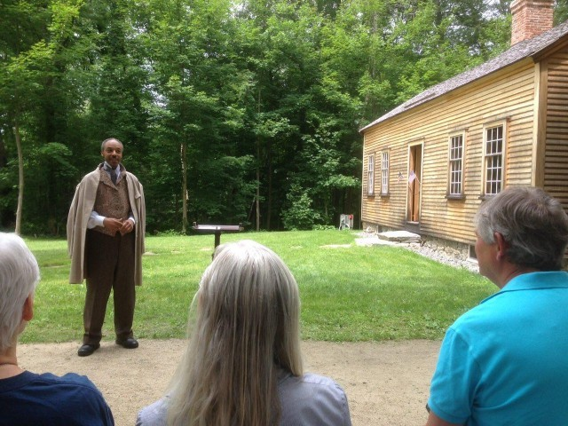 Guy Peartree As Frederick Douglass. Courtesy Photo