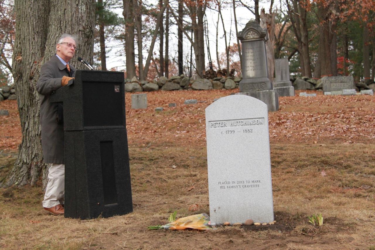 Hutchinson Family Grave Marker